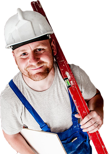 A man cleans windows in Kitchener, waterloo and cambridge ontario