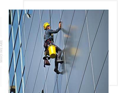 A man Window Cleaning Services In Ontario
